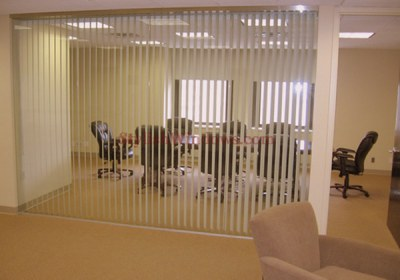 Vertical Blinds in Office-2-Alif Interiors