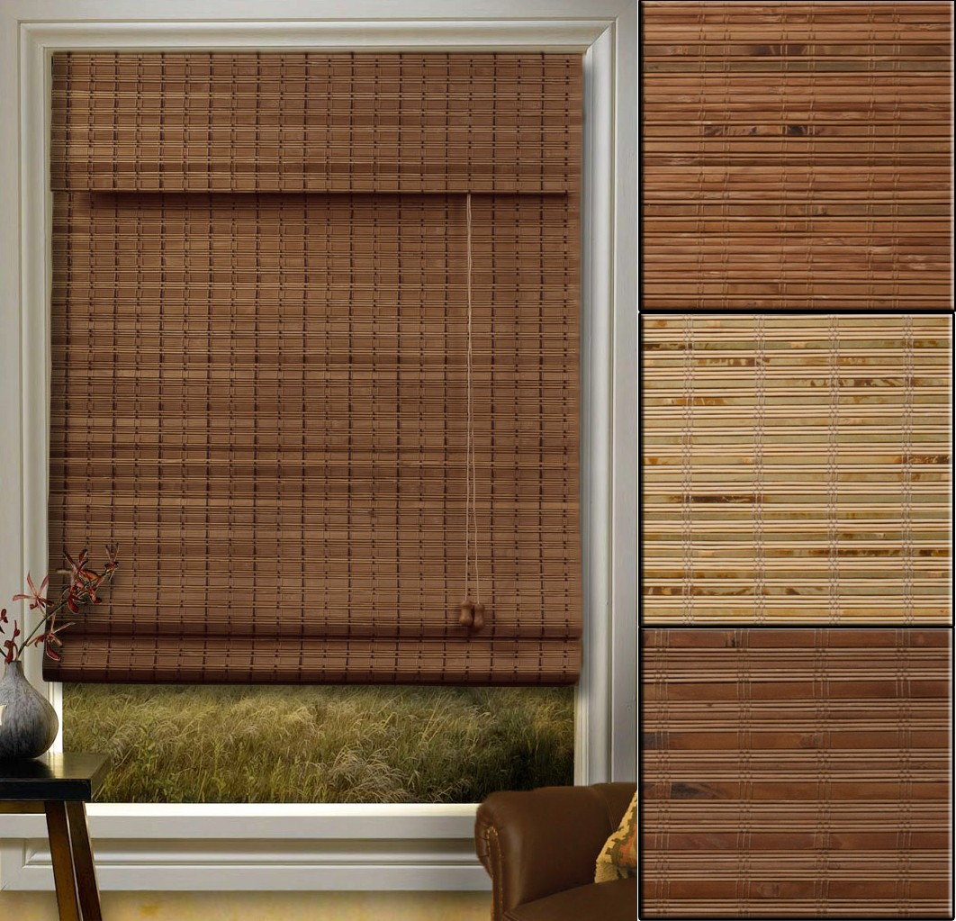 Bamboo Blinds Several