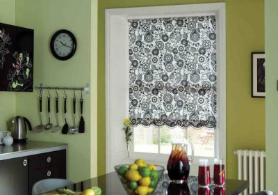 kitchen-blinds-roman-blind-Alif Interiors