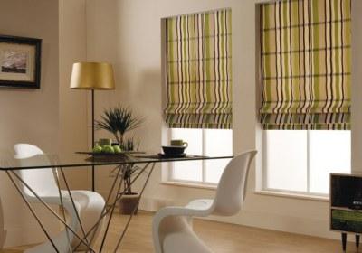 living-room-roman-blinds-Alif Interiors Pakistan